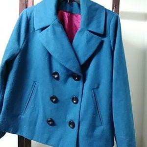 Merona short wool pea coat